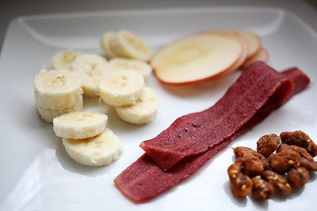 main courses  Recipe: Peanut Butter, Bacon, and Caramelized Banana Sandwich