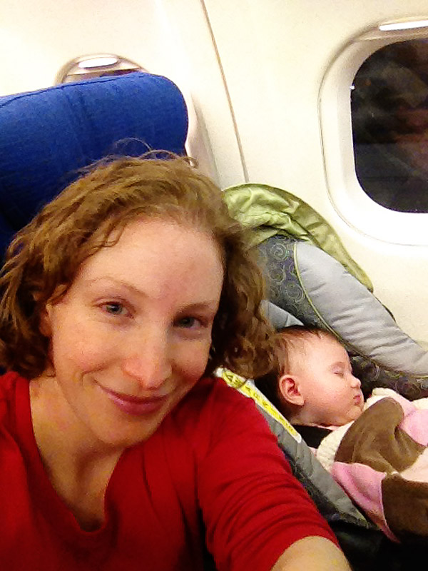 daily  Tips for flying with your baby