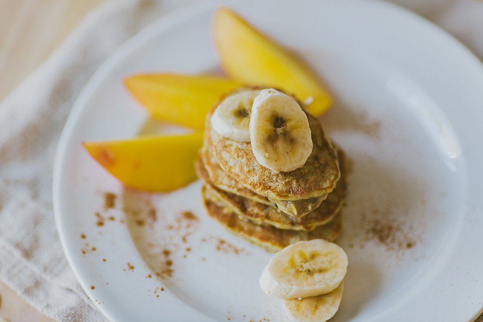 featured breakfast  Recipe: 3 ingredient Banana Pancakes