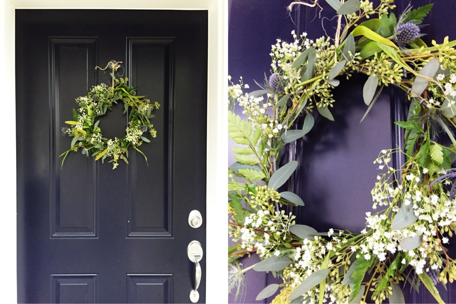 featured diy  DIY: Greenery Wreath Tutorial