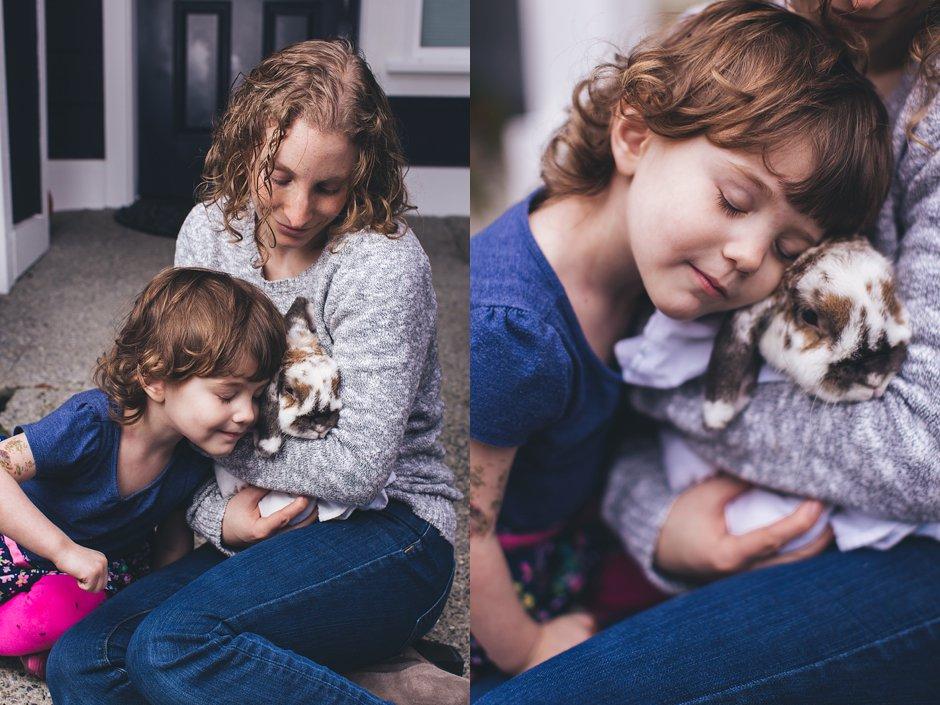 Bunny family photos