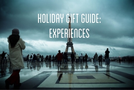 2014 holiday gift guide experiences