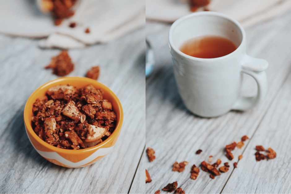 recipe apple cinnamon granola