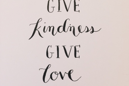 give kindness give love