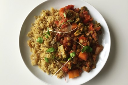 jalfrazie inspired lentils