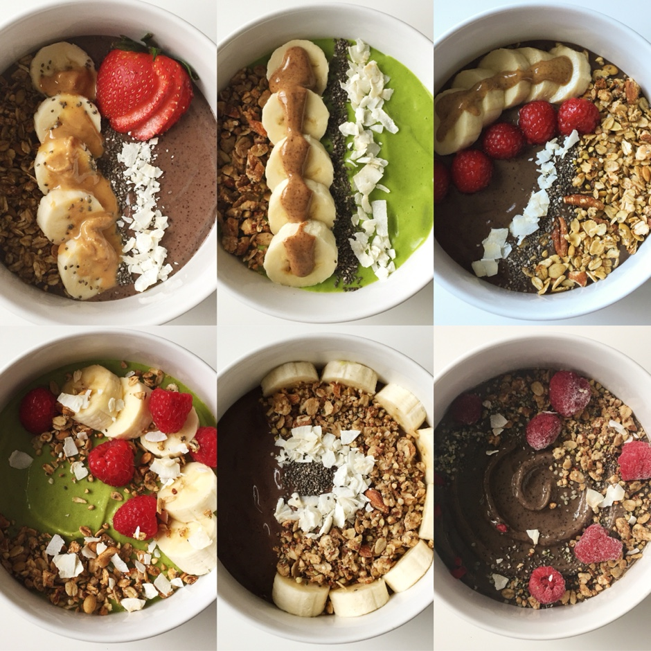 recipes featured breakfast  How to make a smoothie bowl