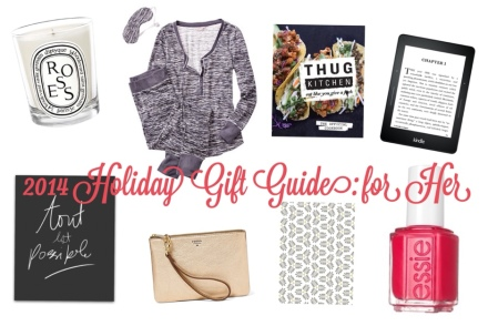2014 holiday gift guide for her