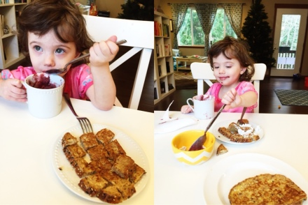 french toast and smoothies