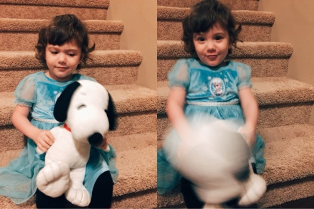 lily and snoopy